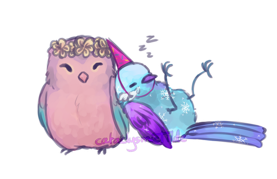 All partied out by cataclysmicTilde