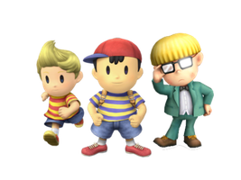 Ness and friends by Legend-tony980