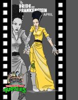 Bride of Frankenstein April film by ShinMusashi44