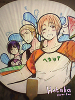 Hetalia Fan by ROSEL-D