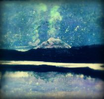 Mountainous Night Sky by maddie22201