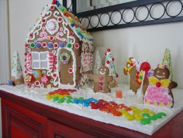 Gingerbread House by Nizy