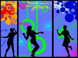 Vector Dance Wallpaper by Mar1lyn84