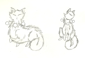 Rosary Cats by ZeldaWolf7