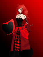 Cwenhild The Red Queen by Aoiome