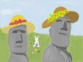 Easter on Easter Island by VATalbot