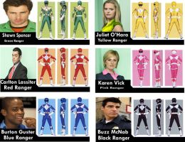 Power Rangers: Psych Force by AuraWinter