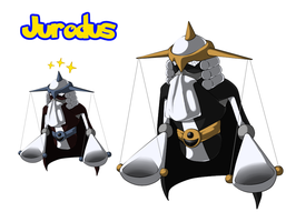 Fakemon: Jurodus by ShadowScarKnight