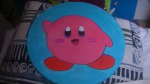 Kirby painting by Chaoslink1