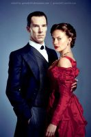 Sherlock and Irene - The Abominable Bride by gwendy85