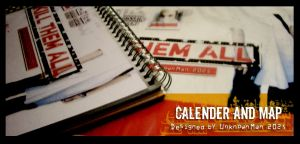 Calender and map by Psychiatry