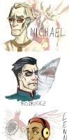The Good, The Bad, The Ugly by Uniformshark