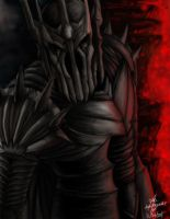 SAURON from Lord of the Rings by kinwii