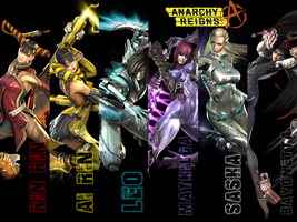 ANARCHY REIGNS Wallpaper by TigerCubby