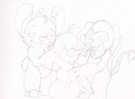 Lets build a snow man wip by vexhis