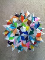 Tornillo Unit Rhombicosidodecahedron by DaughterofBeast23