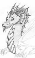 Another Dragon by Jakhajay