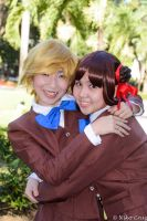 Best Friends Before The Book: Yui and Miaka by hainrihi