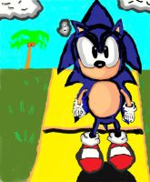Classic sonic about to run by cobra10