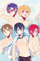 Free! Iwatobi Swim Club by Tomoji