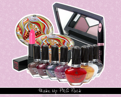 Make up PNG Pack by Green-Romance