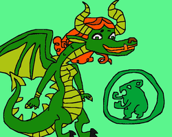 Total Drama Dragons: Izzy by conlimic000