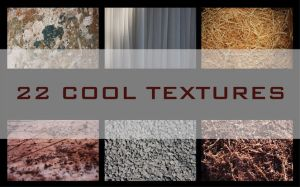 22 Cool Textures by AkirA6001