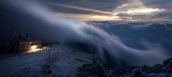 The ghostly veil between men and Gods by borda