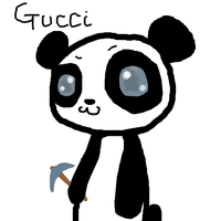 This gucci panda is fabulous by HelloKittyTinkerBell