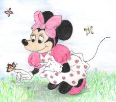 Minnie Mouse by greydeer2010