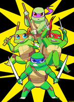 HEROES IN A HALF SHELL by mizz-ninja