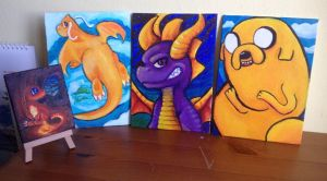Mini Canvases by Taluns