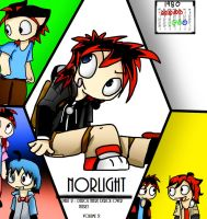 Norlight Volume 2 Part 2 Cover by ShadowtailsDerol