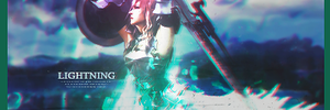 Final Fantasy: Lightning Signature by MajesticSnoozer