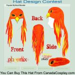 Phoenix Hat - Contest Entry by winterryoneko