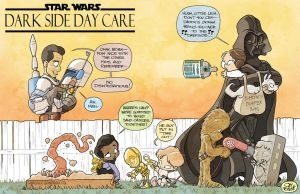 DARK SIDE DAY CARE by JayFosgitt