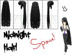 MMD: Midnight Hair + DL by MikuMikuLiv