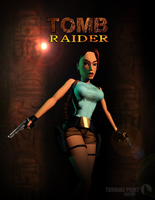Turning Point Web - TR1 Cover Poster by FearEffectInferno