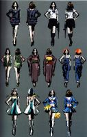 Helena RE6 Extra Costumes 1 by Sparrow-Leon