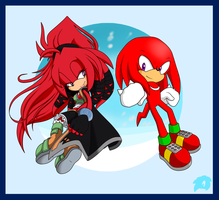 SS: Mirage + Knuckles by Blue-Erizo