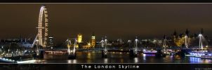 The london skyline by amzb87