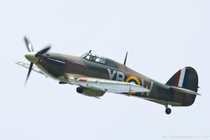 Hawker Hurricane Mk.IIC YB-W by Thunderbolt120