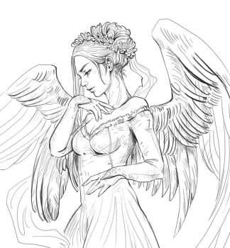Angel by JowieLimArt