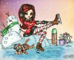 2014 winter CP coloring contest by diddy2703