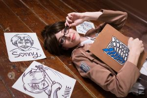 Hanji Zoe and her Drawings by MeganCoffey