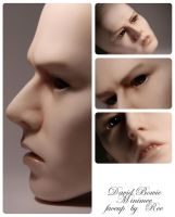 david bowie minimee faceup by RE-main