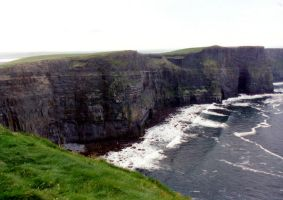 The Cliffs of Moher, Ireland by JulianasGrandma
