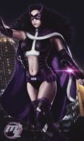 Huntress from Batman and Robin by Maryneim