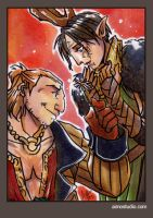 PSC - Varric and Merril 2 by aimo