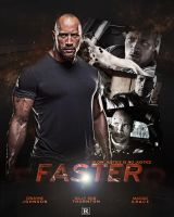 Faster - Movie Poster by DGsWay